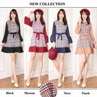 Mini Dress Korea Kesha / Dress Masa Kini