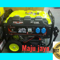 Genset 2000 watt POWER ONE PT 3700 E Stater firman honda nlg multipro