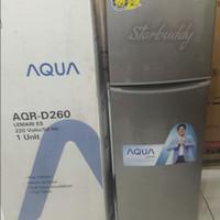 Kulkas 2pintu AQUA AQR-D260, Murah Berkualitas