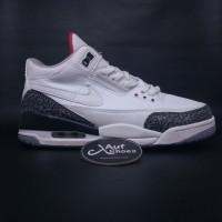 f42a0c30c611 Nike Air Jordan 3 White Cement NRG putih hitam