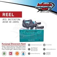 REEL PANCING BC Bait Cast Daiwa RG 101 HSL
