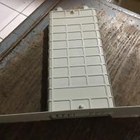 ODF / Roset FTTH / OTB Wall 6 Core SC LENGKAP BREKET Adapter PigtailSC