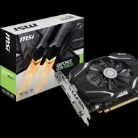 VGA Nvidia MSI GTX 1050 TI 4GB OC Single Fan
