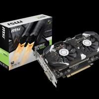 VGA Nvidia MSI GTX 1050 Ti 4GB DDR5 MSI GTX 1050 Ti 4GT OC DUAL FAN