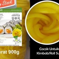 Danmuji / Takuan 900 g Potong Panjang Cocok untuk Kimbab / Roll Susi