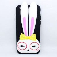 Casing hp Iphone Oppo VIvo Xiaomi Samsung Bunny Standing Case Holder