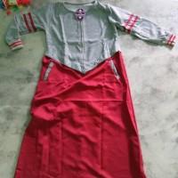 Baju menyusui murah / Dress busui / Gamis hijab terbaru : Varisa Maxi