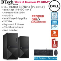 DELL Vostro 3670 Intel Core i5-8400 Gen 8/4GB/1TB/DOS/1YR PC ONLY