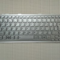 Keyboard Laptop Toshiba Mini NB200 NB205 NB250 NB255 NB300 Silver