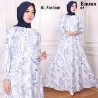 Maxi Emma 5 Baju Muslim Wanita Gamis Model Kekinian Terbaru