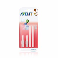Jual PROMO Philips Avent Replacement Straw and Brush Set Sedotan Botol Min Murah