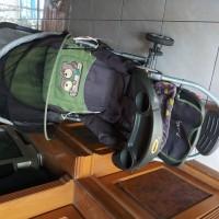 Stroller Kereta Dorong Bayi Babydoes Preloved Bekas Second Murah
