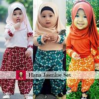 baju busana muslim anak perempuan I gamis anak model terbaru I Hana