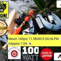 120psi 5LPM Mode Kasar & Kabut Jet Cleaner Steam Alat Cuci Motor nnnn
