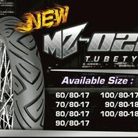 Ban motor mizzle MZ 028 / Power VTX / Taranis 100/80-17 non tubeless