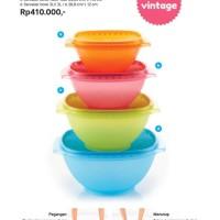 Servalier Bowl Set 4 pcs tupperware-best seller