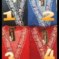 Kimono Batik Kencana Ungu / Ukuran All Size D ( Daster )
