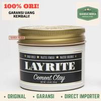 Layrite Cement Clay Original Impor Murah Pomade