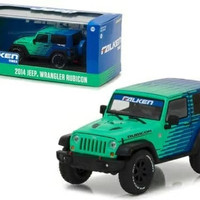 GREENLIGHT SKALA 43 2014 JEEP WRANGLER RUBICON FALKEN TIRES