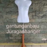 Manekin ABG plus tiang kayu GRATISS HANGER 1 lusin