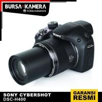 SONY CAMERA CYBERSHOT DSC-H400 H400 KAMERA POCKET PROSUMER