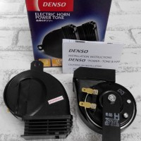Klakson Denso Waterproof Electric Power Tone Horn Model Keong