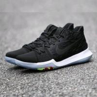 aebcf7699c6b sepatu basket Nike kyrie 3 black white premium quality Paling Laris