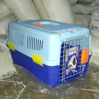 Kandang kucing kelinci Anjing Musang pet cargo khusus Grab dan Gosend