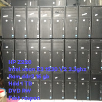 Cpu Komputer Pc Comp Server intel xeon ram 16 gb hdd 1 tb