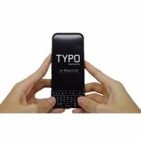Hardcase Typo 2 Keyboard Case QWERTY for iPhone 5 5s SE Black MCStor