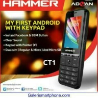 hp murah advan hamer ct1 android with keypad design elegan hp simple