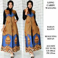 Longcardy batik/longcardy wayang