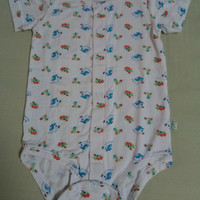 SIMPLY LIFE piyama anak bayi 6-9 bulan 95% bamboo 5% spandex apparel