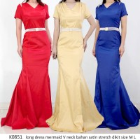 dress pesta - long dress - gown night - prom gown -baju pesta - K0851