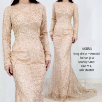 dress pesta - long dress - gown night - prom gown -baju pesta - K0853
