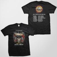 Jual Kaos Baju Band Rock Legend GNR Guns N Roses - GNR44 INDO BK FNB Murah