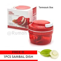 Tupperware Turbo Chopper FREE Sambal Dish