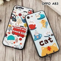SOFT CASE FOR OPPO A83 - LONDON CAT 3D SOFT CASE CASING CASING HP OPPO