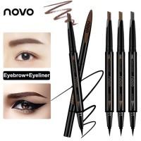 Novo Eyeliner and Eyebrow Pen 2In1