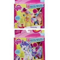 Jual My Little Pony Design-a-Pony Kit Fluttershy Rarity / ORIGINAL Hasbro Murah