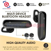 Handsfree Earphone Multi Bluetooth UNEED Wireless Elegant - UHS01