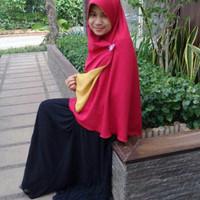PROMO DISKON Khimar Bolbal Murah Berry Perdana Hijab Alila