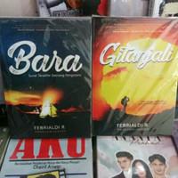 Sepaket Novel Bara dan Gitanjali
