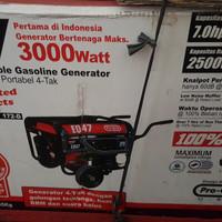 Genset Proquip EQ 47 3000 watt