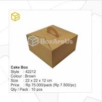 42212 | Packaging, Dus Kue, Box Kue, Gift Box