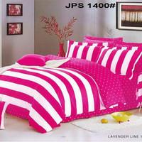 Sprei katun jepang ASLI 180X200X30 Minimalis Pink