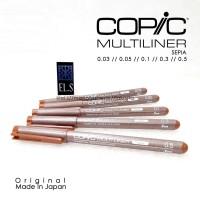 Copic Multiliner Sepia