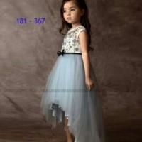 181- 367 Gaun pesta anak perempuan Dress anak branded