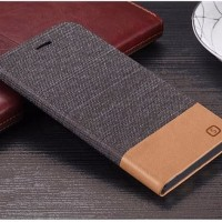 Flip Case Jeans Canvas Slot Wallet Cover Case Casing HP Sony Xperia Z4