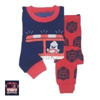 Baju tidur anak/piyama/GAP- baby shark driver